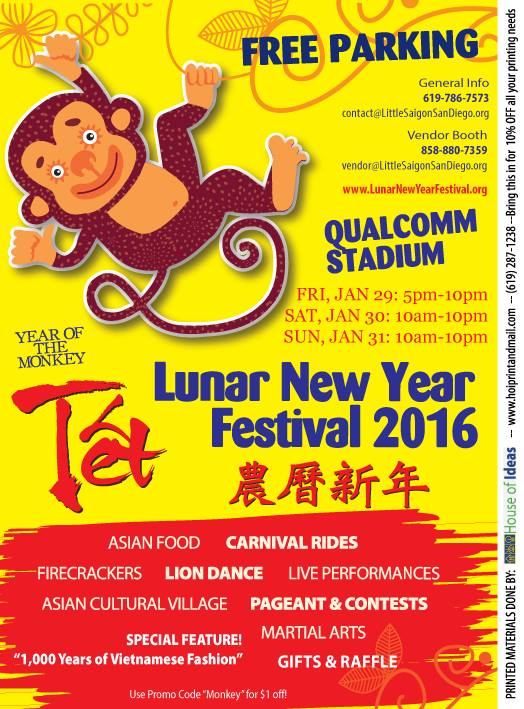 Lunar new year Tet festival 2016