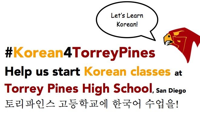 A Petition to Establish a Korean Class at Torrey Pines High School