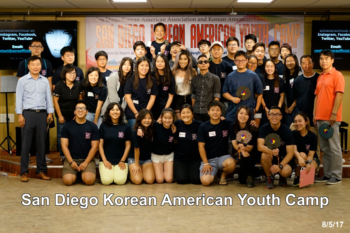 2017 San Diego Korean American Youth Camp recap