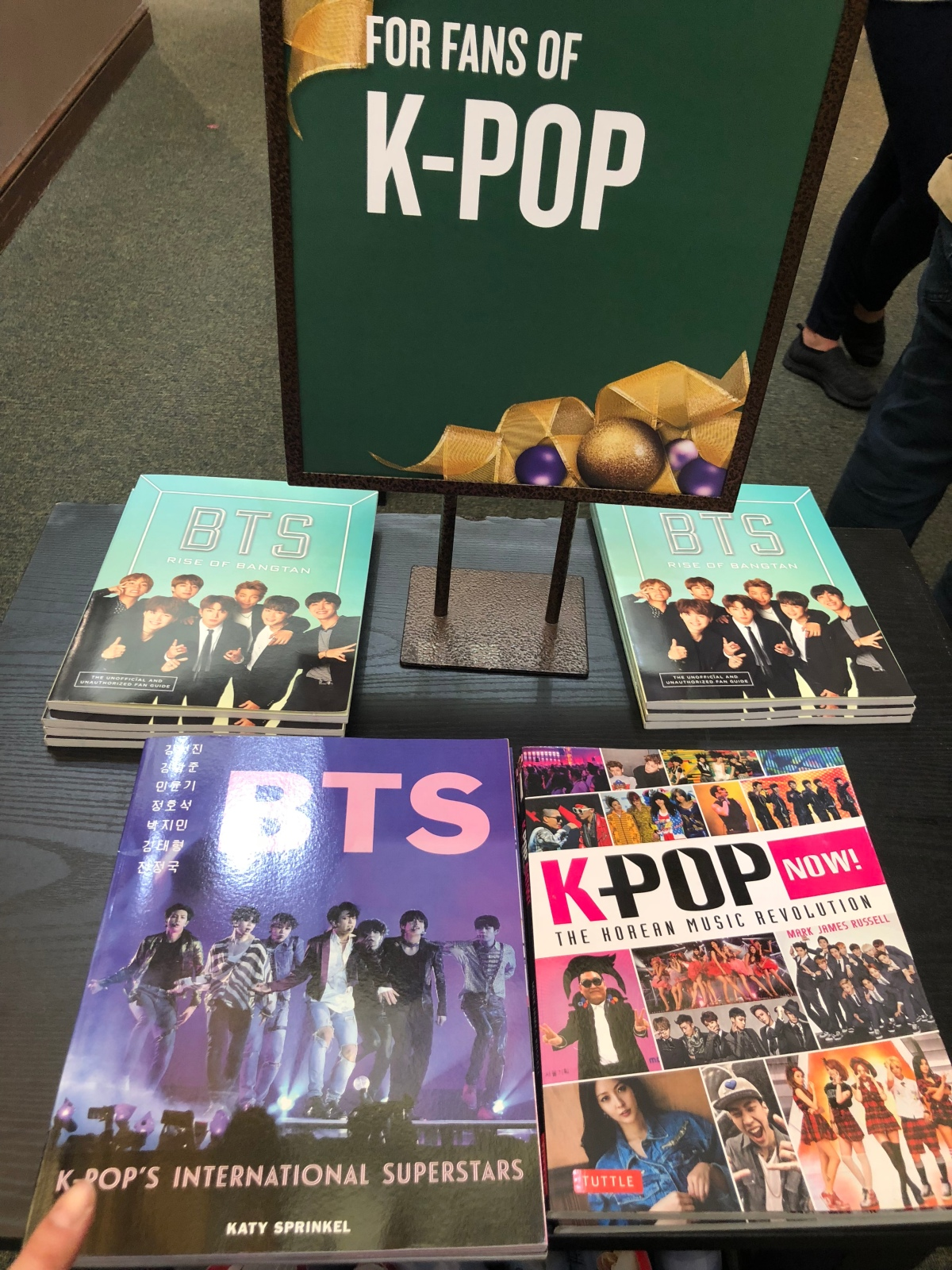 BTS books at Barnes and Noble